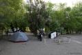 Oft sind die Campingplätze nicht sehr schön, dafür gibt es viele Grills