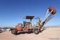 Fahrender Staubsauger zum räumen der Schächte der Opal-Minen