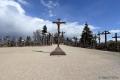 Litauen 6 - Berg der Kreuze - In der Vergangenheit mehrfach zerstört, wurde diese Ansammlung von Kreuzen immer wieder von Privatpersonen neu aufgebaut und wächst auch heute weiter.