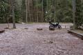 Estland 11- Lahemaa Nationalpark - Der Vorteil von Hagel ist, dass die Klamotten nicht sehr nass werden