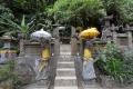 Tempel am Gitgit Wasserfall