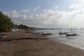 Strand in Lovina im Norden von Bali