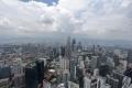 Kuala Lumpur - Aussicht vom Fernsehturm Menara Kuala Lumpur