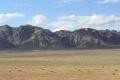 In der Gobi wirken die Berge manchmal unglaublih klar