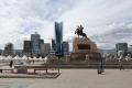 Ulaanbaatar ist eine schnell wachsende Stadt, etwa die Hälfte aller Mongolen wohnen hier