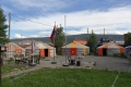 Das Oasis Camp hat einen passenden Namen, hier trifft man viele Überland-Reisende, kann ein paar Tage zur Ruhe kommen und gutes Essen gibt es auch.