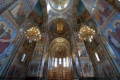 St. Petersburg - Auferstehungkirche, was auf dem Bild wie Malerei ausieht sind Mosaike