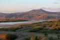 Russland - schöne Landschaften nach der mongolischen Grenze auf dem Weg nach Ulan Ude