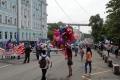 In Vladivostok wird der Geburtstag der Stadt gefeiert.