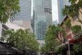 Singapur - Finanzdistrikt