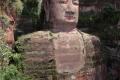 Leshan - mit 71 m ist dieser in Stein gehauene Buddha der größte seiner Art
