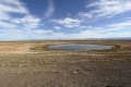 Altai - Hier ist der trockenste Ort Russlands, das Wasser, was man hier sieht, kommt wohl großteils von der Schneschmelze