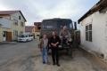 Altai - In Kosch-Agatsch treffe ich drei Russen, die Probebohrungen für den Straßenbau machen