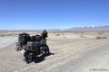 Altai - In Richtung der Mongolischen Grenze beginnt die Steppe. Im Hintergrund sieht man Kosch-Agatsch, was soviel bedeutet wie letzter Baum