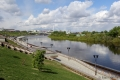 Tyumen - Flusspromenade
